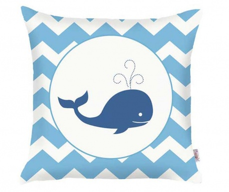 Fata de perna Whale 35x35 cm