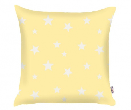 Jastučnica Stars Light Yellow 35x35 cm
