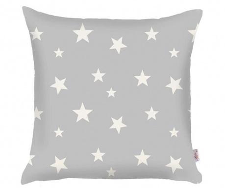Калъфка за възглавница Stars Grey 35x35 см