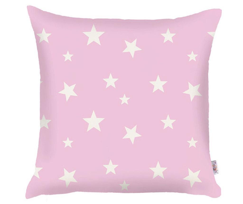 Jastučnica Stars Pink 35x35 cm