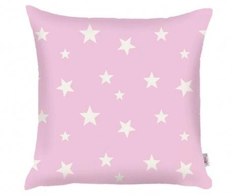 Fata de perna Stars Pink 35x35 cm