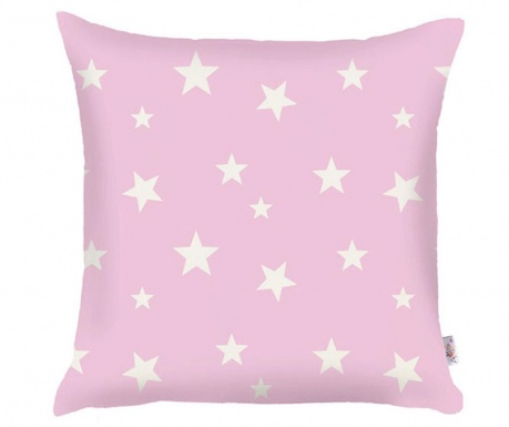 Prevleka za blazino Stars Pink 35x35 cm