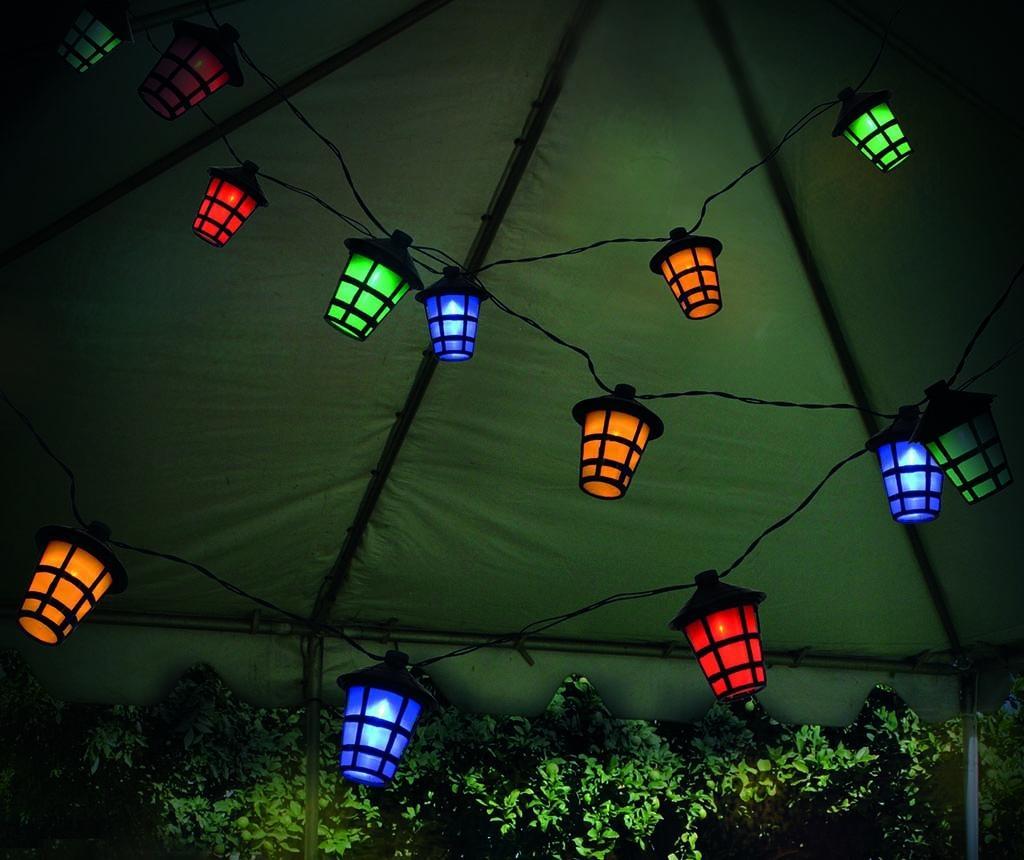 Chain Lantern Kültéri fényfüzér