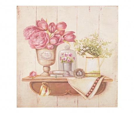 Flowers Decorations Festmény 50x50  cm