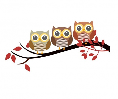 Стикер Owls Brench