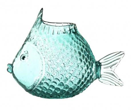 Váza Fish Blue