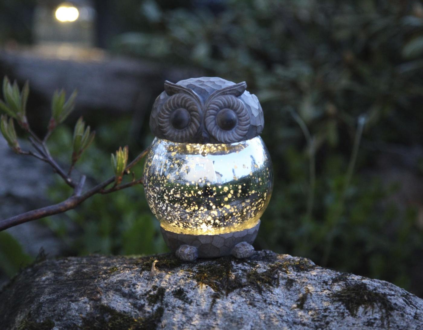 Lampa solara Cute Owl