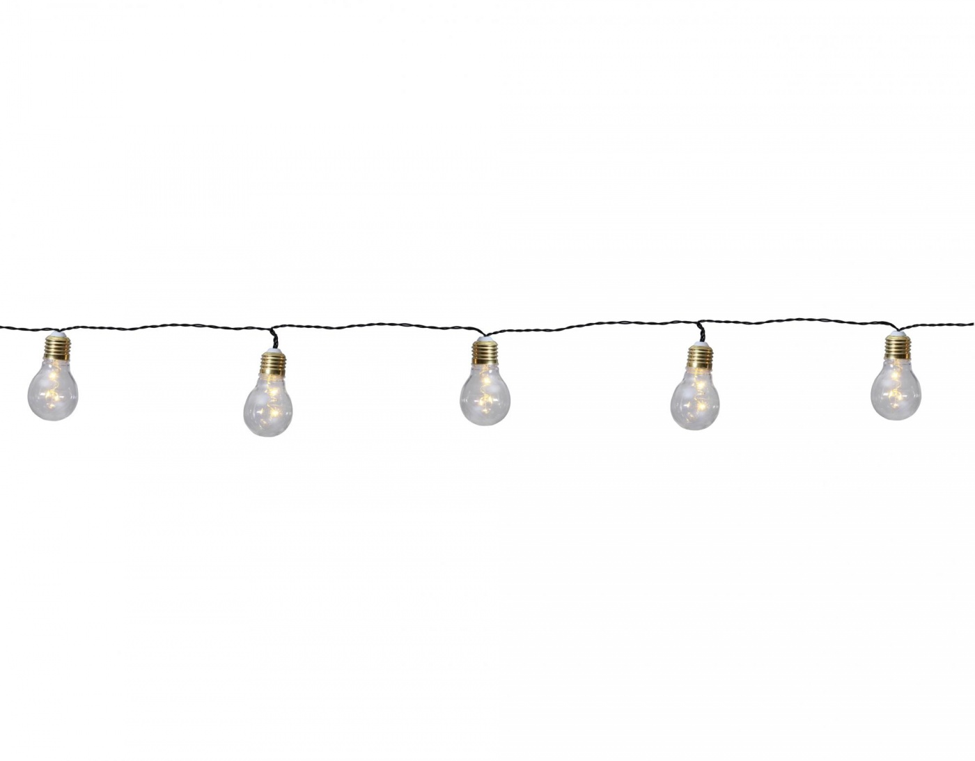 Svetlobna girlanda Silver Bulbs 100 cm