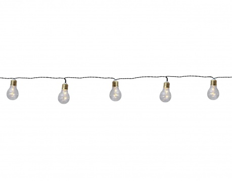 Girlanda świetlna Silver Bulbs