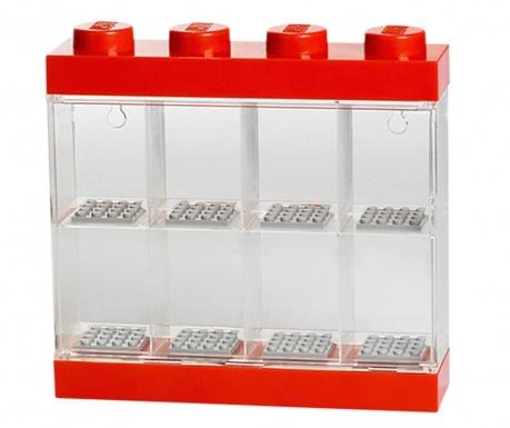 Krabica na 8 mini figúriek Lego Few Red