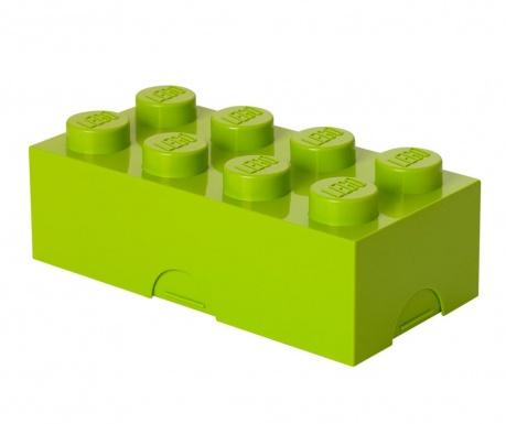 Lego Green Uzsonnás doboz