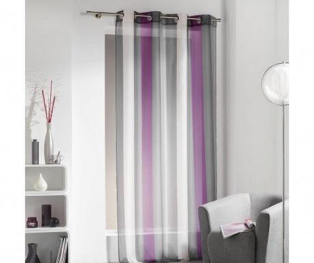 Перде Stripes Purple 140x240 см