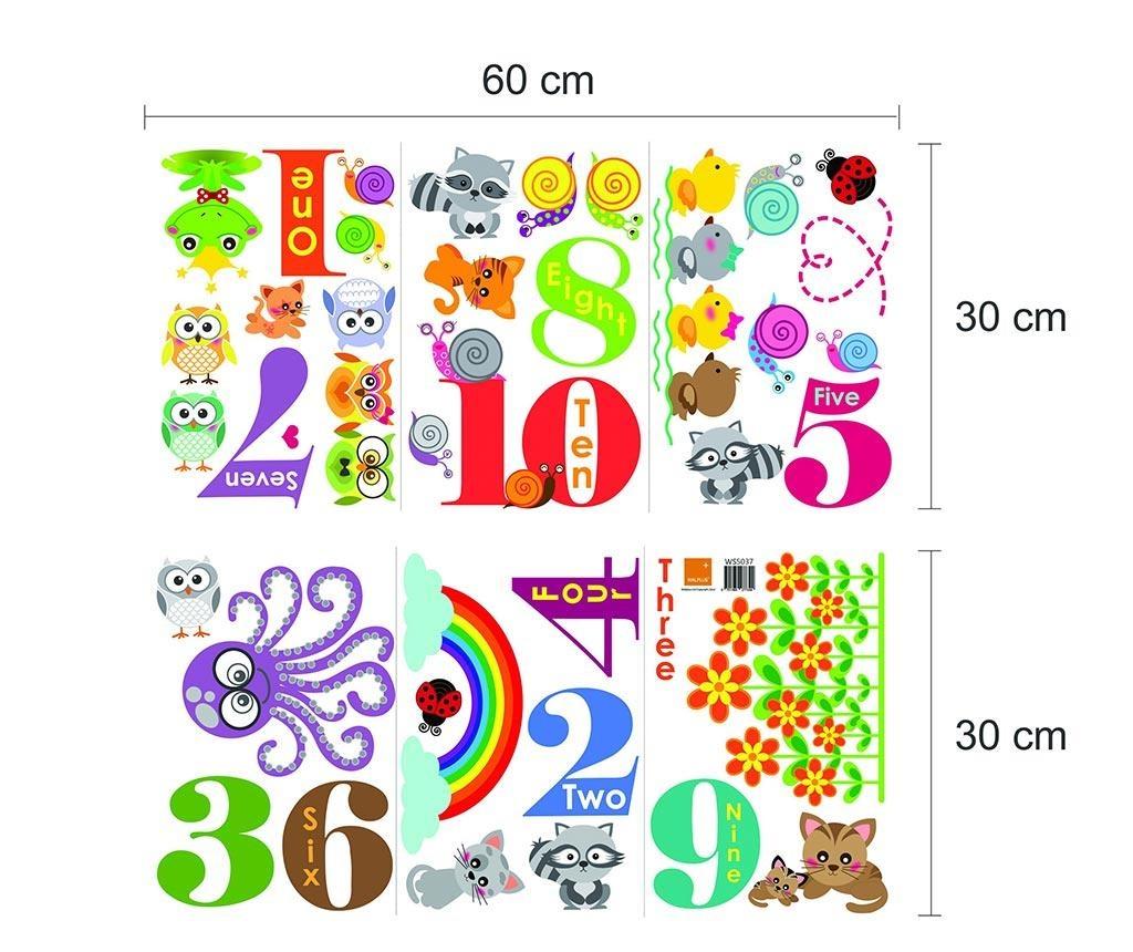 Nalepka Animals Numbering