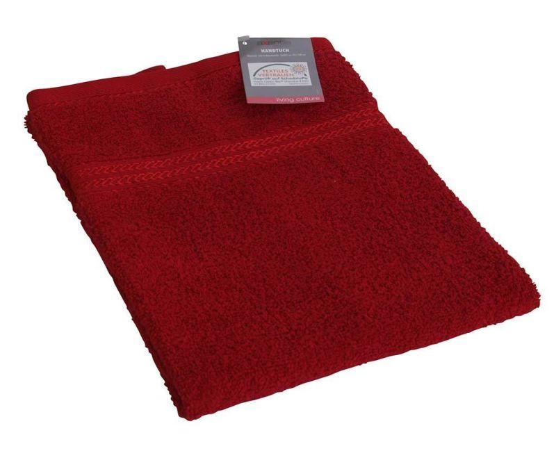 Prosop de baie Handy Red 50x100 cm