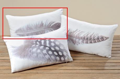 Poduszka dekoracyjna Feather One 30x50 cm