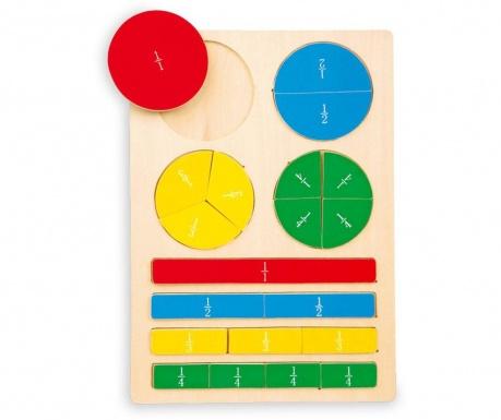 Образователна игра Fractions