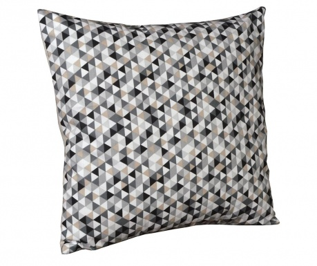 Perna decorativa Geometric Chic Grey 40x40 cm