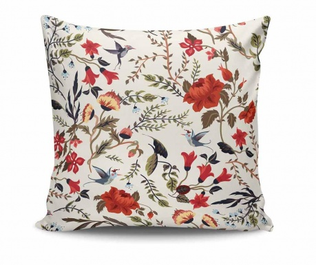 Cushion cover Flowers 45x45 cm