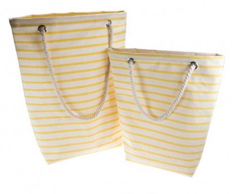 Sada 2 plážové tašky Beige Hal