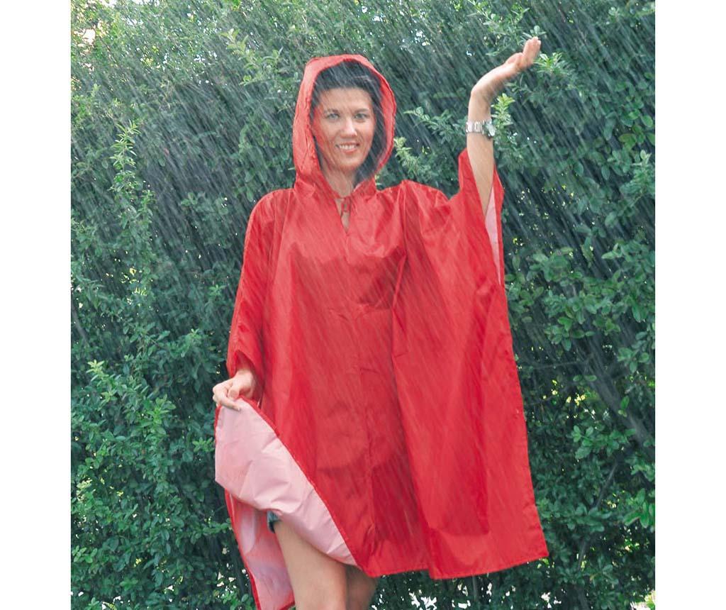 Peleryna przeciwdeszczowa unisex Hood Red