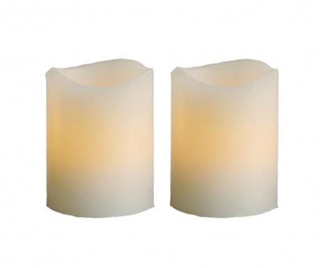 Комплект 2 свещи с LED Twins