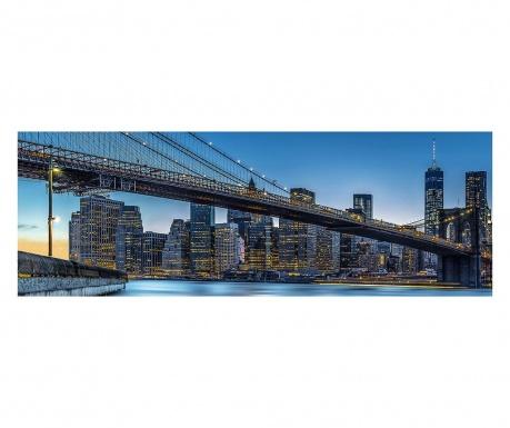 Тапет Blue Hour over New York 127x366 см