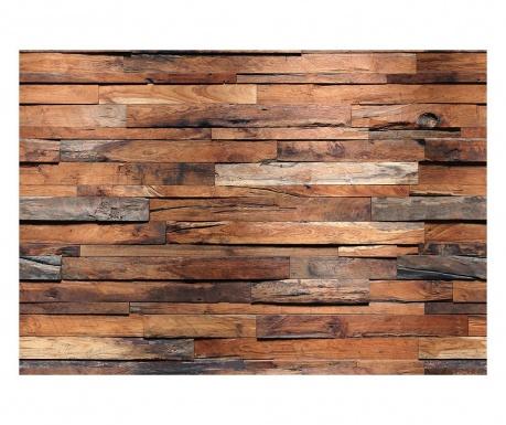 Tapet Wooden 254x366 cm