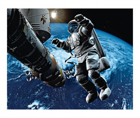 Space Cowboy Tapéta 160x200 cm