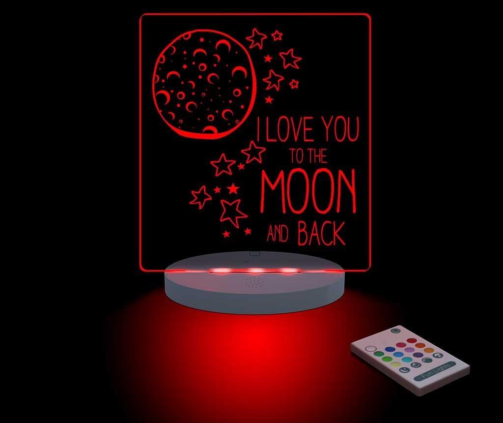 Moon & Back Éjjeli fény
