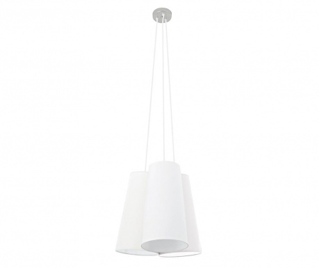 Závěsná lampa Tris White
