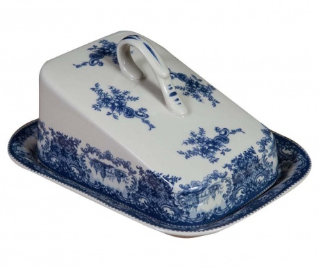Butter dish with cover Palace Blue