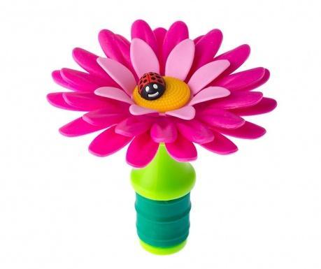 Τάπα μπουκαλιού Flower Power Pink