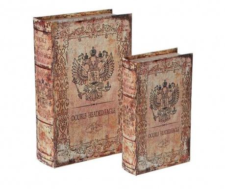 Комплект 2 кутии тип книга Double Headed Eagle