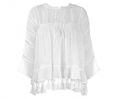 Bluza za plažu Anemone White M