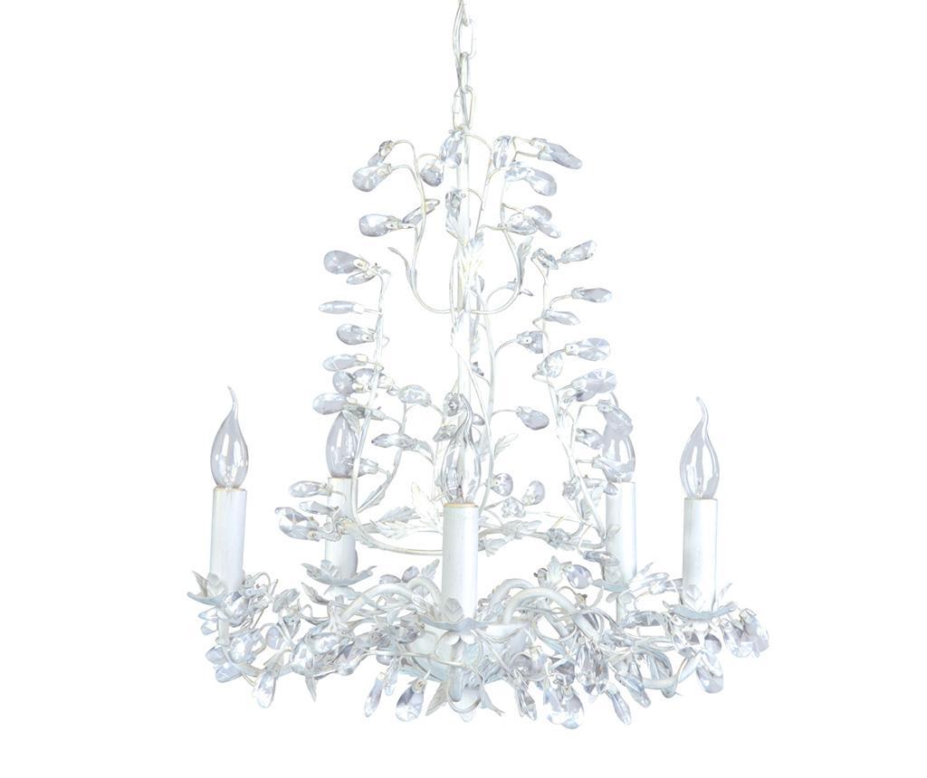 Candelabru Bouquet Five White - SPOTLIGHT, Alb