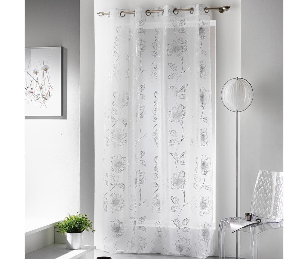 Perdea Celia Silver 140x240 cm - L3C, Gri & Argintiu