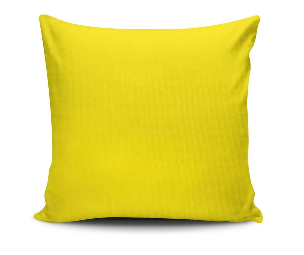 Perna decorativa Mumble Yellow 45x45 cm - Spiffy, Galben & Auriu