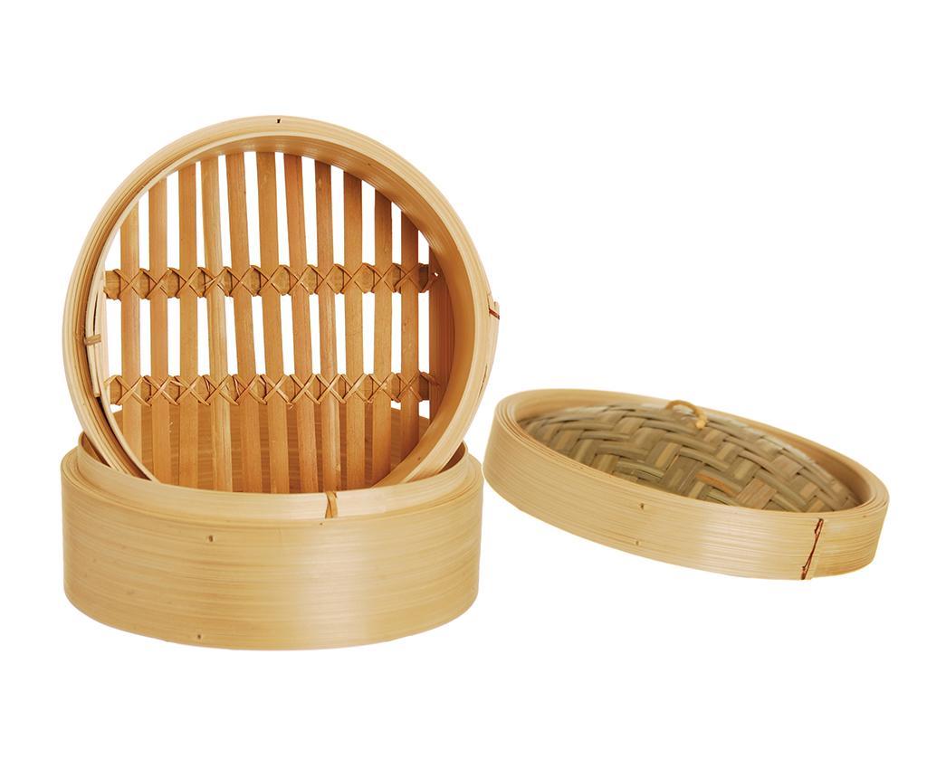 Cos pentru gatit la aburi Bamboo M - Excelsa, Maro de la Excelsa