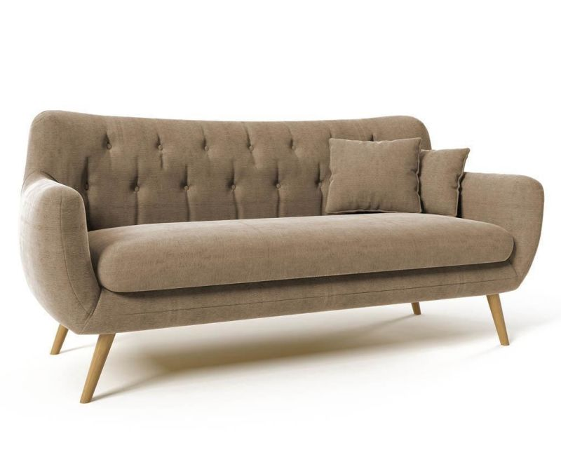 Canapea 3 locuri Renne Light Brown