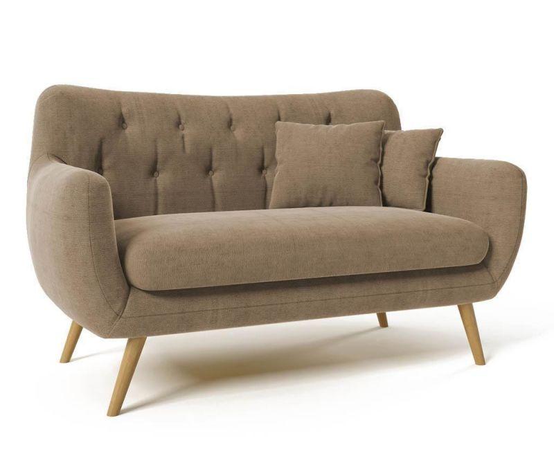 Canapea 2 locuri Renne Light Brown