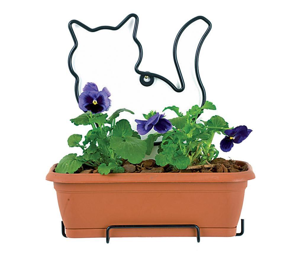 Cvetlično korito  s podstavkom in držalo Nature Line Cat