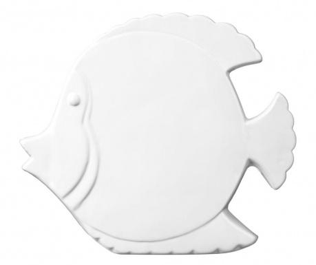 Dekoracja Fish White