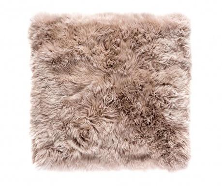 Leedo Square Light Brown Szőnyeg 70x70 cm