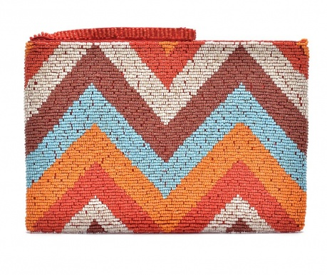 Envelope bag Orange Chevron