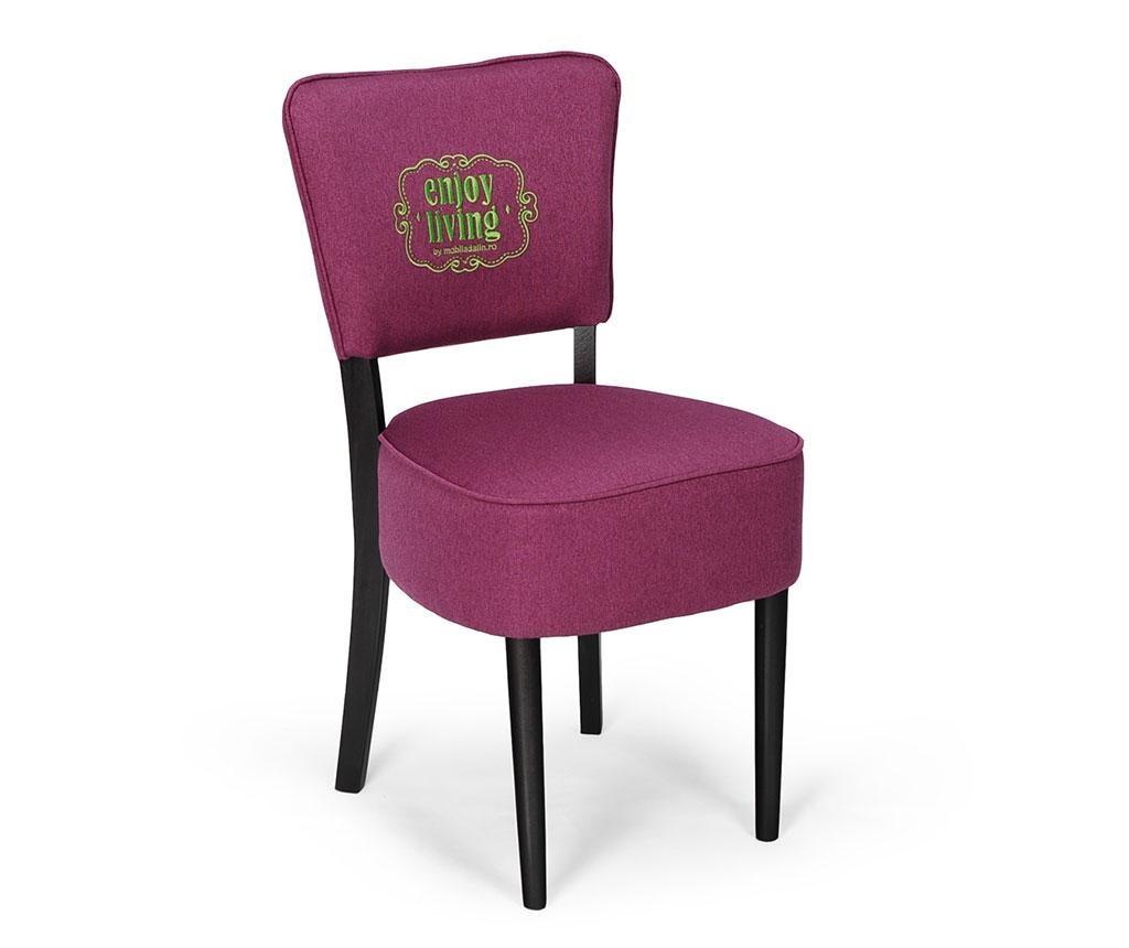 Stolička Nisa Purple Braided Classic