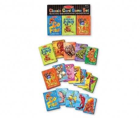 3 seta karata za igru Go Fish