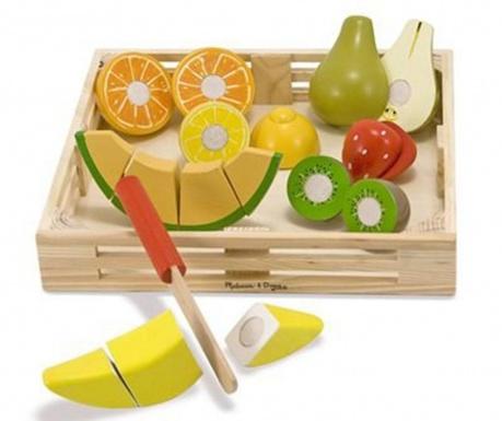 Alimente de jucarie 19 piese Organic