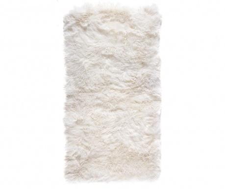 Koberec Leede Rectangular White 70x140 cm