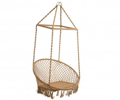 Hammock chair type Relax Brown