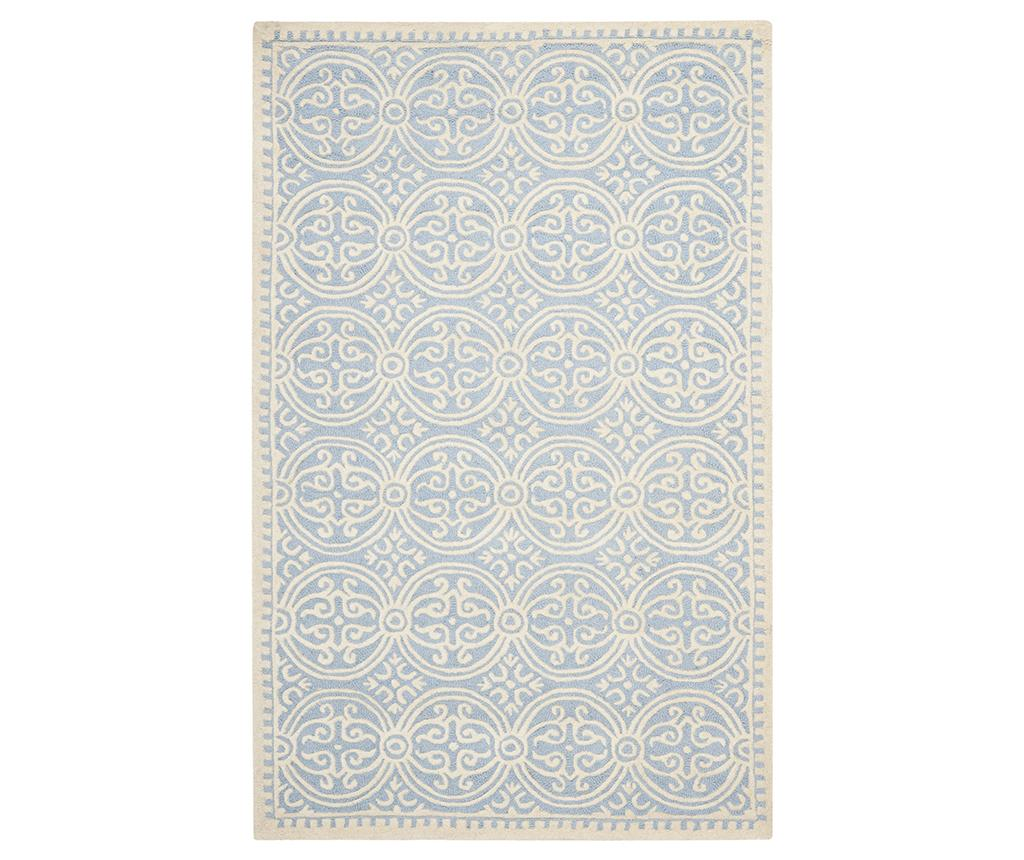 Covor Marina Light Blue Ivory 152x243 Cm